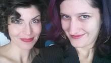 Jess and Annie take a selfie at tvRogers Ottawa